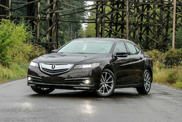 2016 Acura TLX V6 Tech Black | TOPISMAG.COM