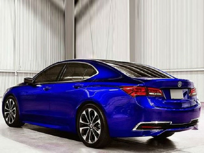 2016 Acura TLX V6 Tech Blue