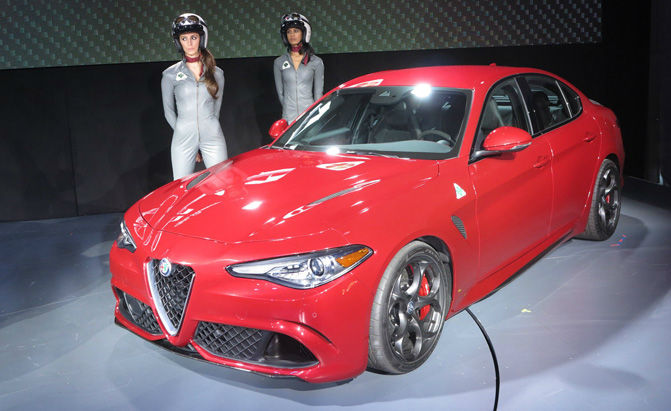 2017 Alfa Romeo Giulia USA Model