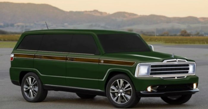 Jeep Grand Wagoneer 2018 >> 2018 Jeep Grand Wagoneer Green | TOPISMAG.COM
