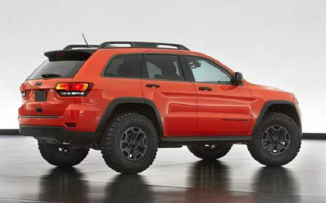 2018 Jeep Grand Wagoneer Pictures