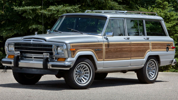 2018 Jeep Grand Wagoneer Woody Model
