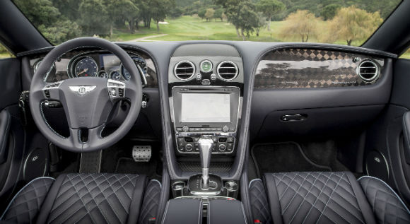 2018 Bentley Continental GT Interior