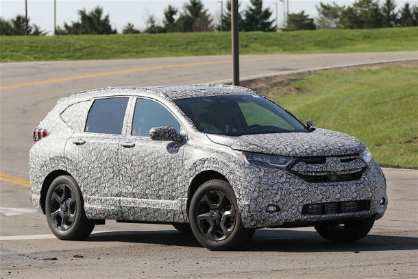 2018 Acura RDX Spy Photos