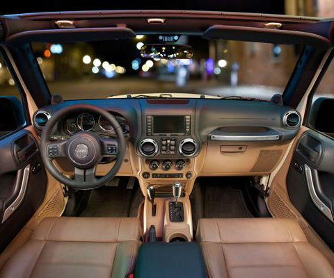 Jeep Wagoneer 2018 Interior