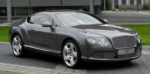 2018 Bentley Continental Model