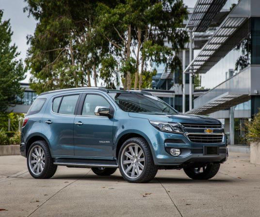 2018 Chevrolet Trailblazer USA