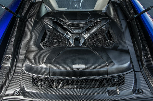2018 Acura NSX Engine