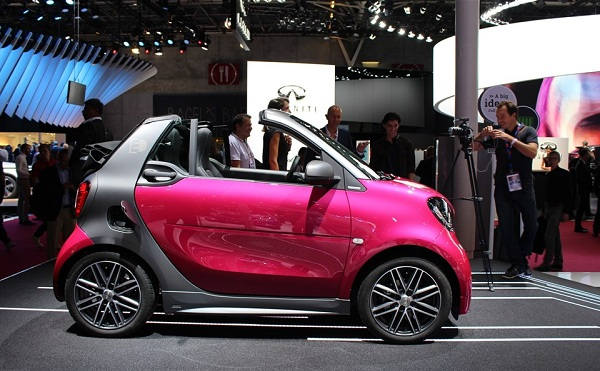 2018 smart Fortwo Electric Drive Range