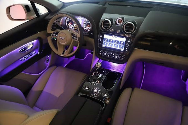 Bentley Bentayga 2020 Interior