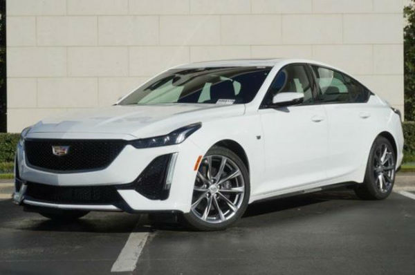 Cadillac CTS 2020 White
