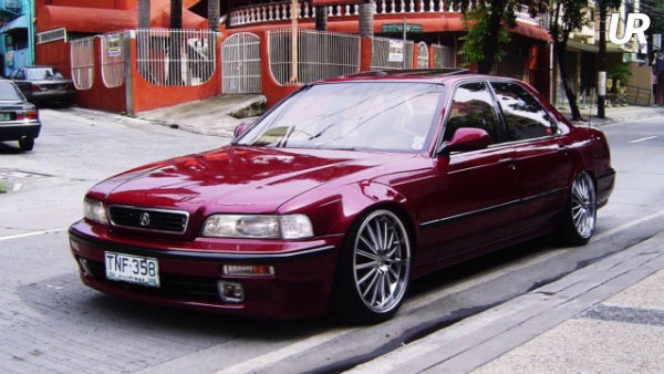 Honda Acura Legend Coupe Modified